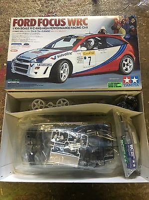 Tamiya 58241 Ford Focus Wrc Nib Kit Unbuilt