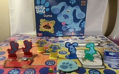 Blues Clues Complete Board Game 1998 Nickelodeon University Games