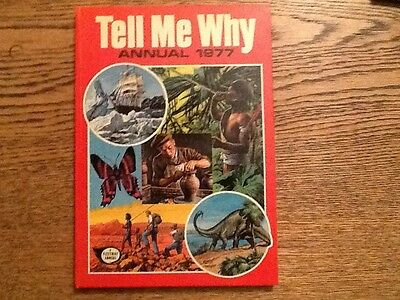 TELL ME WHY  ANNUAL 1977  Hardback Very Good Condition Unclipped