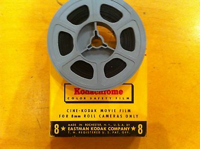 "3"" 50FT of 8MM KODACHROME MOVIE FILM CARTRIDGE TRANSFER TO DVD"