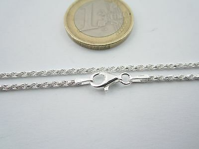 catenina lunga 55 cm cordoncino di 1,8 mm in argento 925 sterling made in italy