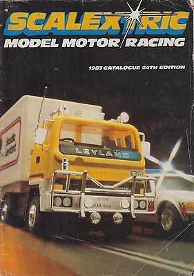 Scalextric Electric Slot Car Racing 24Th Ed ( 1983 ) Product Range Catalogue