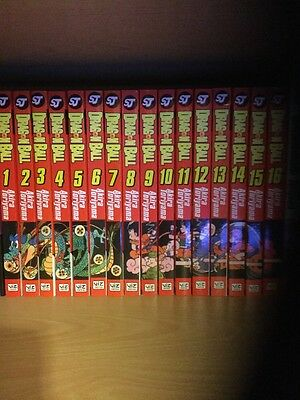 Dragonball Manga complete collection 1-16