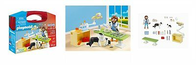Playmobil - 5653 Vet Visit Carrying Case - Brand New
