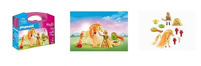 Playmobil - 5656 Fantasy Horse Carrying Case - Brand New