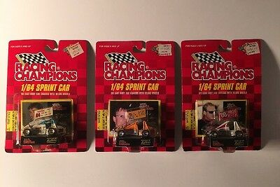 Racing Champions World of Outlaws Sprint Car 1:64 Diecast 1997 1998