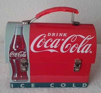 Coca-Cola, Drink, Workmans Carry-All Tin Metal Lunch Box 2014