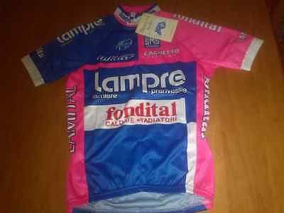 Maillot jersey Cycling team Lampre Fondital 2006. new with tags. made by Santini