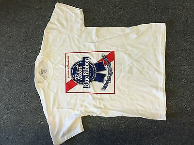 PBR Pabst Blue Ribbon T-Shirt from USA Size Medium