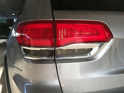 For 2014-2020 Grand Cherokee Taillight Reverse Light Smoke Tint