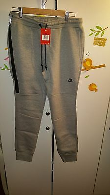 Nike Men's Tech Fleece Pants/Jogger Grey/Black (L) Large NWT
