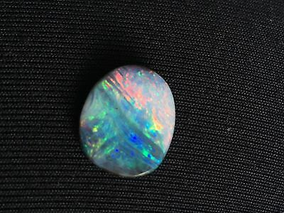 Beautiful 8.15ct Multi-coloured Solid Boulder Opal - Perfect Ring Stone