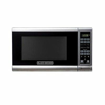 Black&Decker EM720CPY Microwave Oven - Stainless Steel