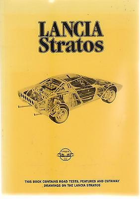 Lancia Stratos ( Road & Rally Versions ) ( 1973 - 1978 ) Period Road Tests Book
