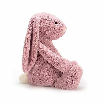 NEW Jellycat Bashful Tulip Pink Bunny, Luxurious & Soft, Large - 14 inches