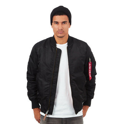 Alpha Industries - MA-1 VF 59 Long Black Bomber Jacke College
