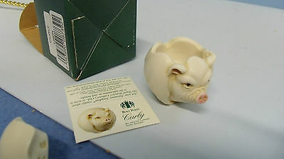 Curly Roly  Poly  Harmony Kingdom  Nib  From Store Stock