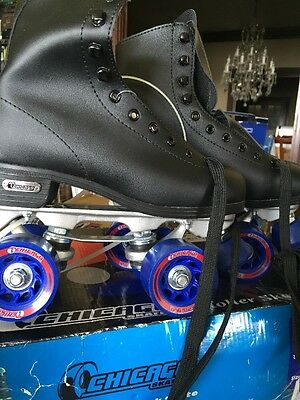 Chicago Rink Skates Men's/ Boys Black Skate (Size 4) - CRS405 NEW