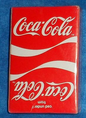Coca Cola Playing Cards, Plastic Coated  New E6