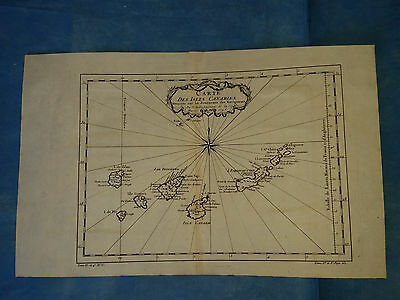CANARY ISLANDS - Bellin, 1746
