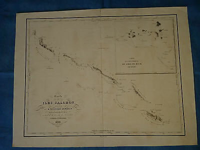 SOLOMON ISLANDS - Vincendon-Dumoulin, 1838