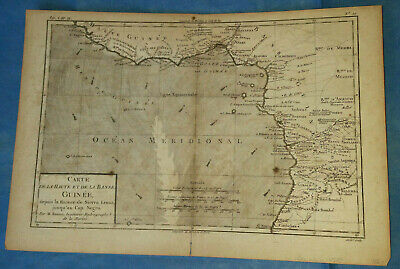 Bonne, c1780 - Central Africa, Gulf of Guinea