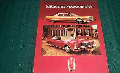 1975 Mercury Marquis  French Brochure