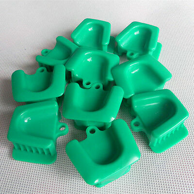 10pcs Dental Silicone Mouth Prop Bite Block Cushion Opener Retractor Large Adult