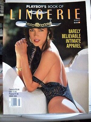 May/June 1993 PLAYBOY'S BOOK OF LINGERIE Magazine