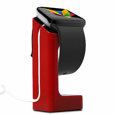 Mobilefox Docking Station Supporto Supporto Apple Watch 38mm/42mm Rot