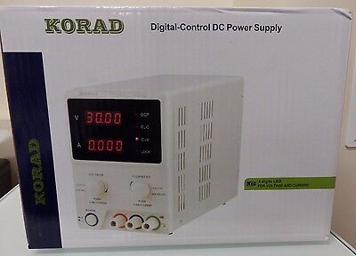 KORAD KD3005D - Precision Variable Adjustable 30V, 5A Digital DC Power Supply