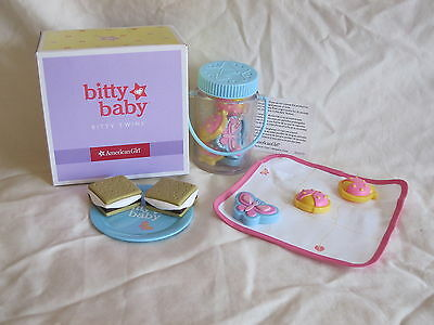 American Girl Bitty Twins Baby Camping Play Set boy NEW for dolls
