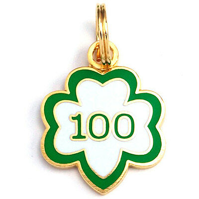 Girl Scout CHARM trefoil 100th Anniversary GOLD-tone Jewelry Ldr gift Multi NEW