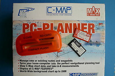 PC PLANNER : Lecteur De Cartes C-map+carte CENTRE MEDITERRANEE+carte memoire 4MB
