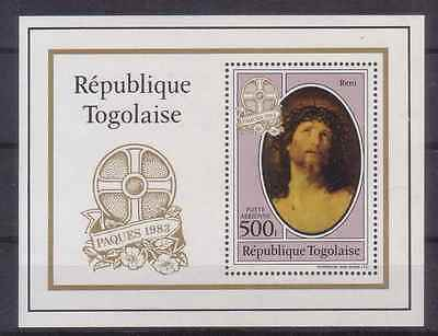 115.togo 1983 Stamp M/s On Paintings, Paques. Mnh