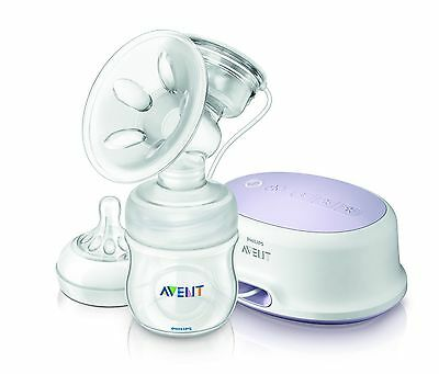 Philips Avent Comfort Single Electric Breast Pump White SCF332/11