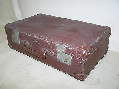Old Suitcase, Travel Cases 1950s Jahre, Hard Plate, Iconic, Retro Design
