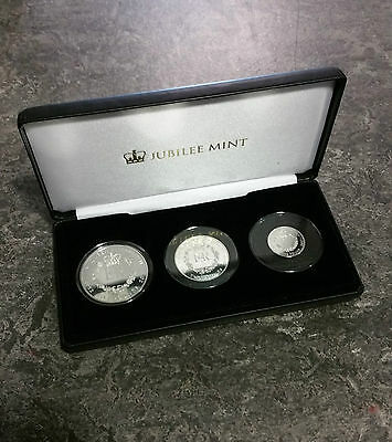 The New Queen Elizabeth II Sapphire Jubilee Solid Silver Proof Coin Collection