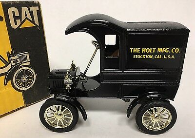 1905 Delivery Car Caterpillar Cat The Holt Mfg. Co #3349 Ertl Mint
