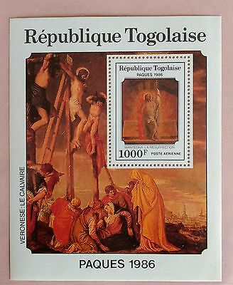 115.togo 1986 Stamp M/s Paques. Mnh