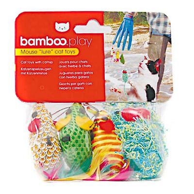 Munchkin Bamboo Catfisher Mouse Toy Replacement Pack