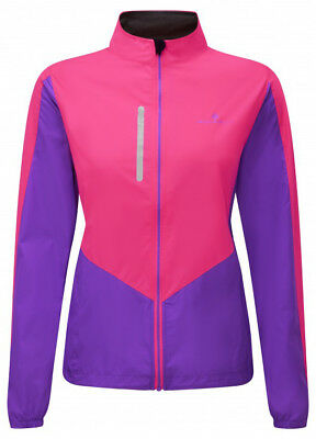 Ronhill Vizion Windlite Ladies Running Jacket - Pink