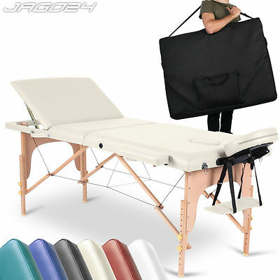 Portable Folding Massage Table Beauty Salon Tattoo Therapy Couch Bed Lightweight