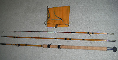 10ft - 3in cane float rod. Restored condition.