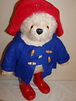Vintage 1980's Paddington Bear by Gabrielle Red Hat