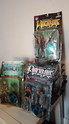 Lof 9 Figurines Witchblade + Fathom neuves