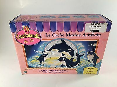 Kenner LITTLEST PET SHOP Cucciolandia Shamu Family Playset SEA WORLD Orche MISB