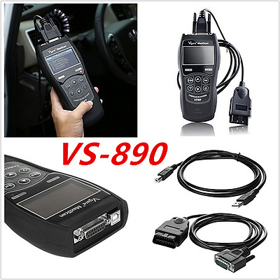 Universal VS890 Car fault Code Reader Data Tester Diagnostic Tool OBD2 Scanner