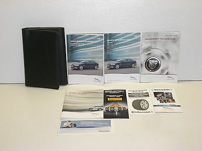 2014 Jaguar XF Owners Manual Set with Case