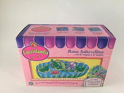 Kenner LITTLEST PET SHOP Cucciolandia MISB Jump 'n Splash Frogs 1994 Splashtime